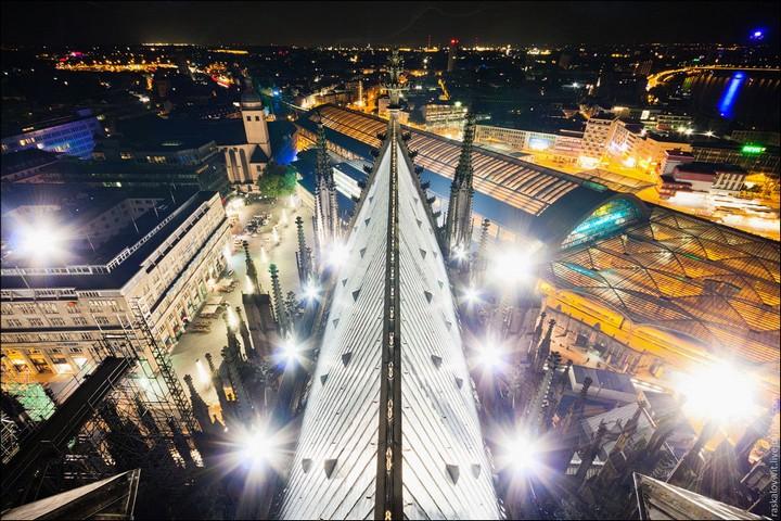 Руферы, как залезть на высокое здание в Европе (31)