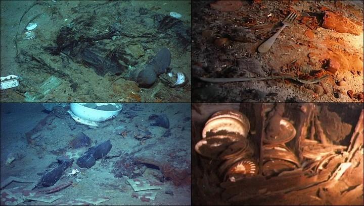 "Фотографии затонувшего ""Титаника"", фото на дне, до и после (35)"