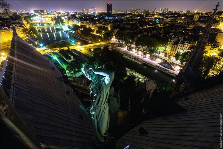 Руферы, как залезть на высокое здание в Европе (59)