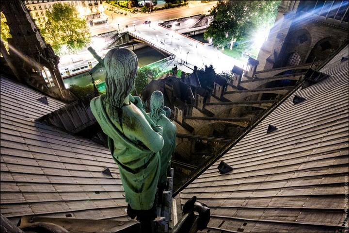 Руферы, как залезть на высокое здание в Европе (60)