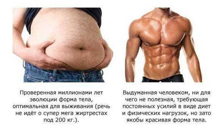 Шесть причин по которым не стоит избавляться от жира (1)