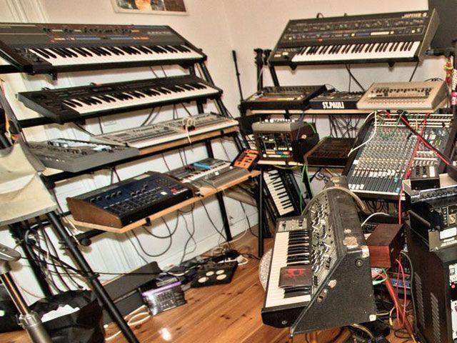 Фото домашних студий звукозаписи с профессиональной аппаратурой (25)