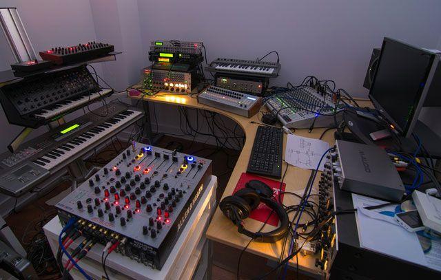 Фото домашних студий звукозаписи с профессиональной аппаратурой (21)