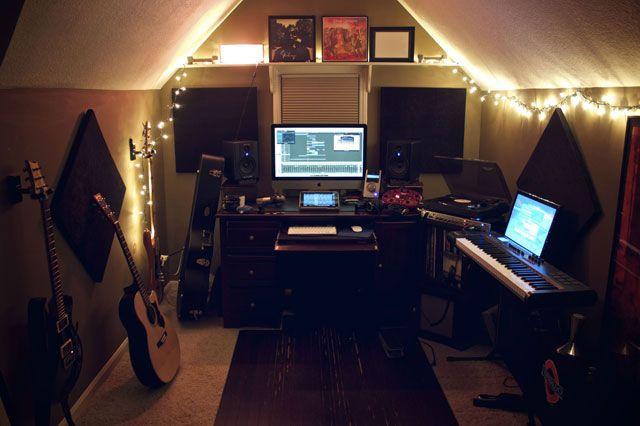 Фото домашних студий звукозаписи с профессиональной аппаратурой (15)