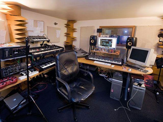 Фото домашних студий звукозаписи с профессиональной аппаратурой (12)