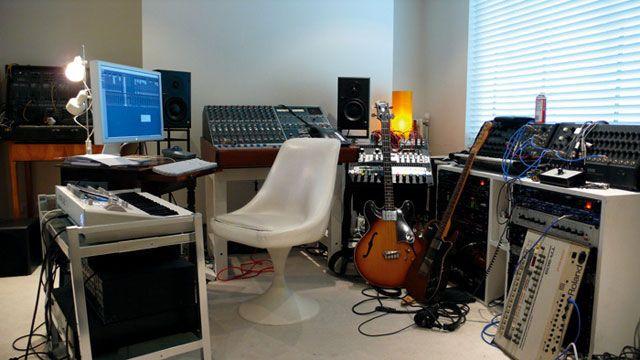 Фото домашних студий звукозаписи с профессиональной аппаратурой (10)
