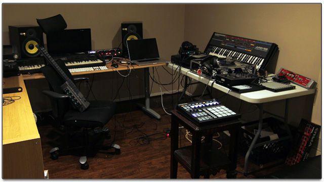 Фото домашних студий звукозаписи с профессиональной аппаратурой (9)