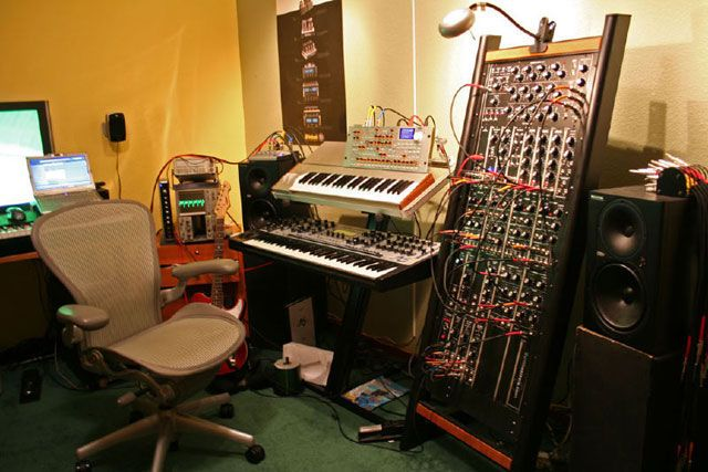 Фото домашних студий звукозаписи с профессиональной аппаратурой (8)