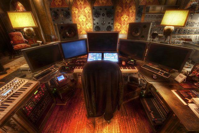 Фото домашних студий звукозаписи с профессиональной аппаратурой (5)
