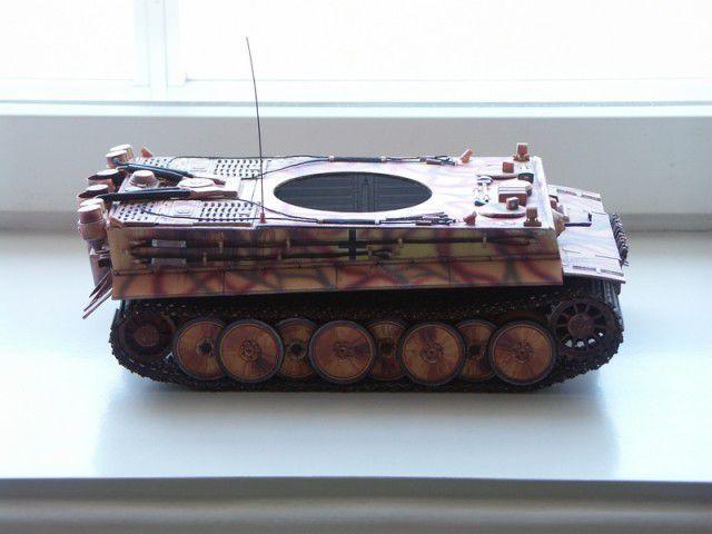 """Бумажная модель танка """"Тигр"""" PzKpfw VI Tiger (39)"""
