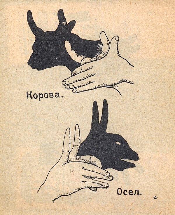 Как сделать тени животных на стене (10)