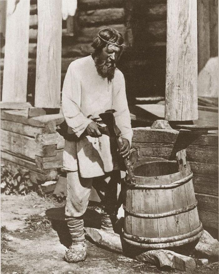Чем занимались крестьяне начала прошлого столетия, какую работу они выполняли (2)
