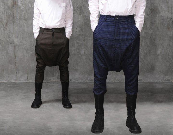 Прикольные брюки с мотней