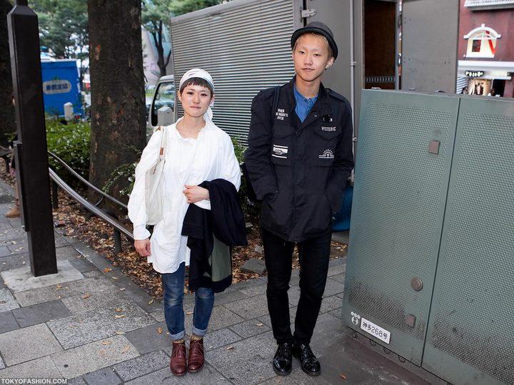 Прикольная одежда фриков. Уличная мода молодежи (35)