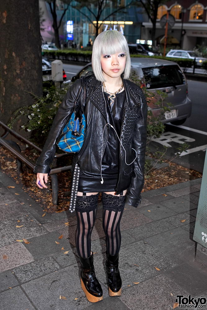 Прикольная одежда фриков. Уличная мода молодежи (34)