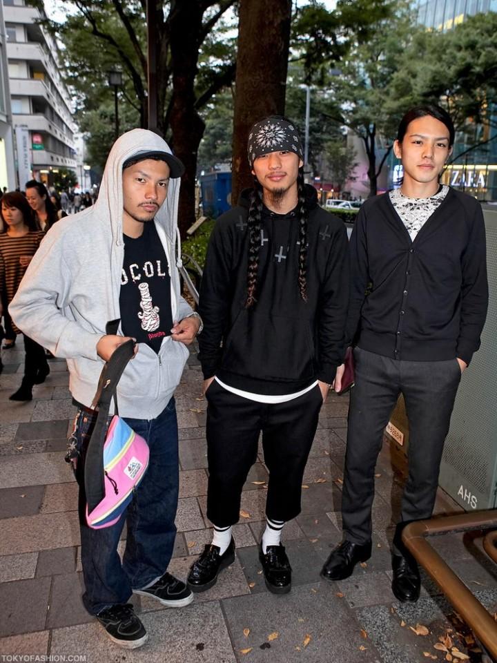 Прикольная одежда фриков. Уличная мода молодежи (33)