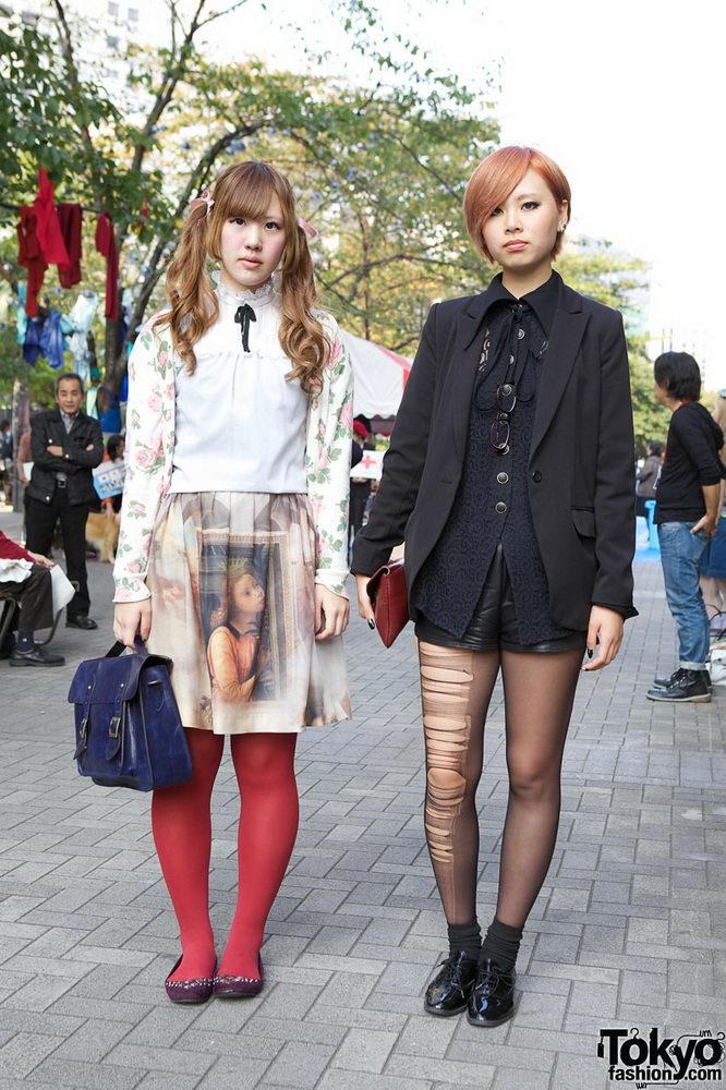 Прикольная одежда фриков. Уличная мода молодежи (27)