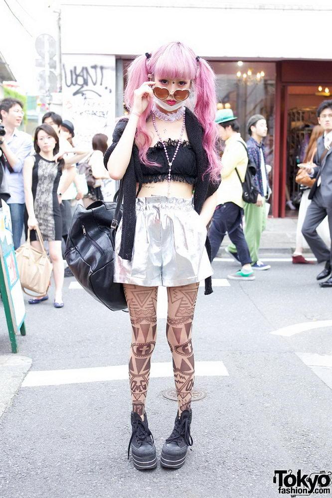 Прикольная одежда фриков. Уличная мода молодежи (26)