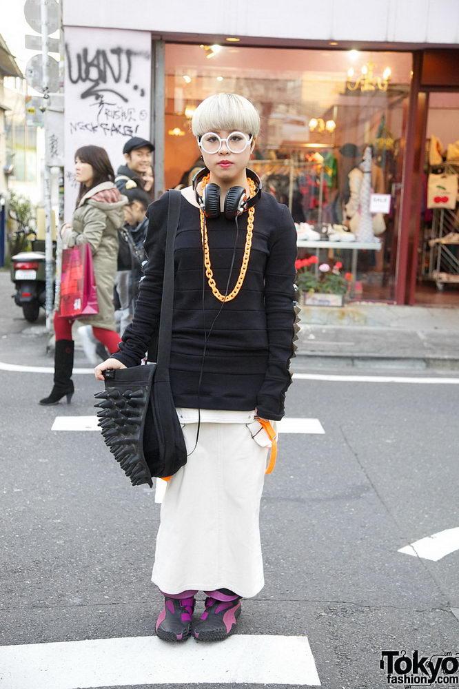 Прикольная одежда фриков. Уличная мода молодежи (23)