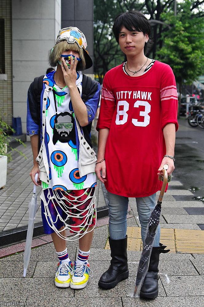 Прикольная одежда фриков. Уличная мода молодежи (21)