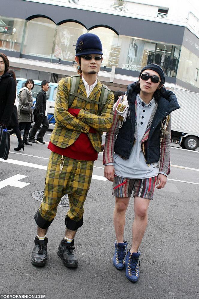 Прикольная одежда фриков. Уличная мода молодежи (19)