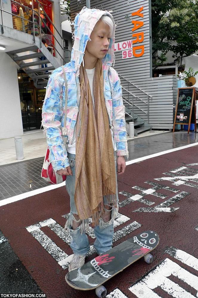 Прикольная одежда фриков. Уличная мода молодежи (13)