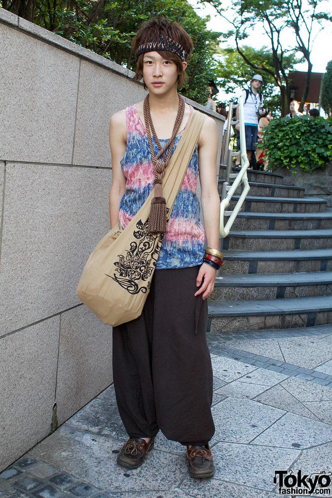 Прикольная одежда фриков. Уличная мода молодежи (12)