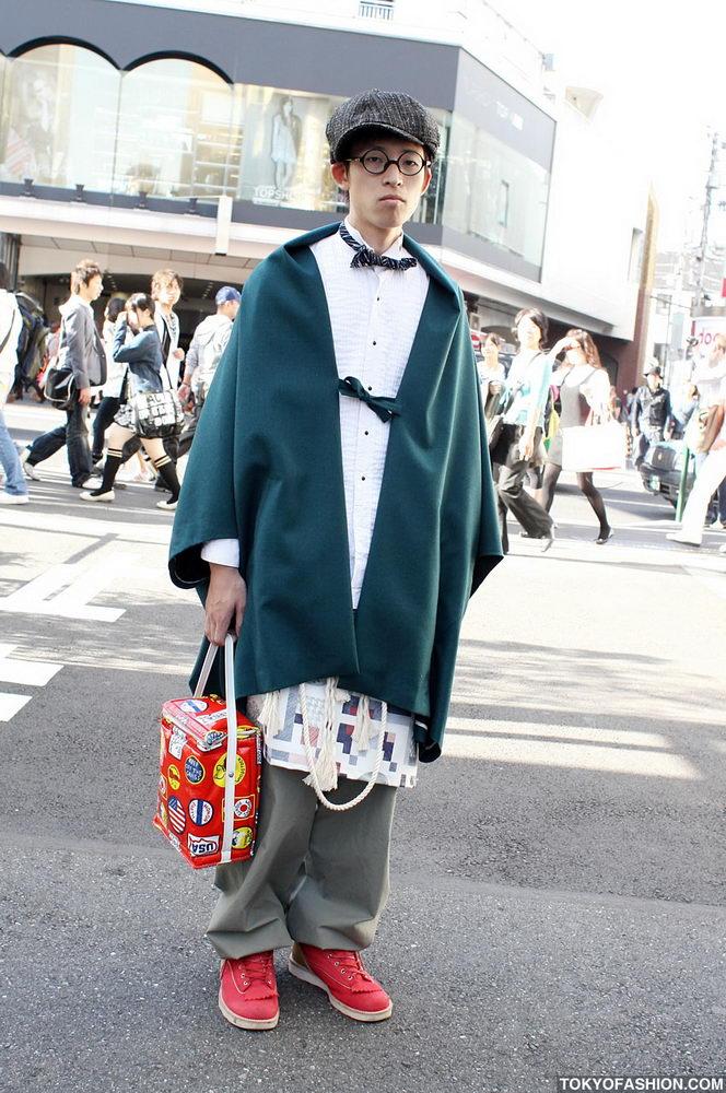 Прикольная одежда фриков. Уличная мода молодежи (10)