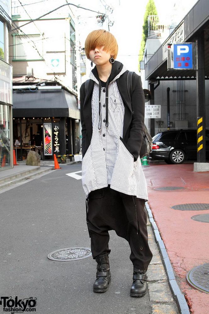 Прикольная одежда фриков. Уличная мода молодежи (9)