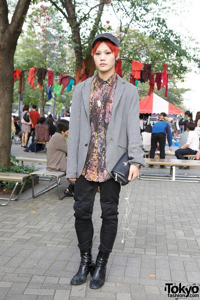 Прикольная одежда фриков. Уличная мода молодежи (7)