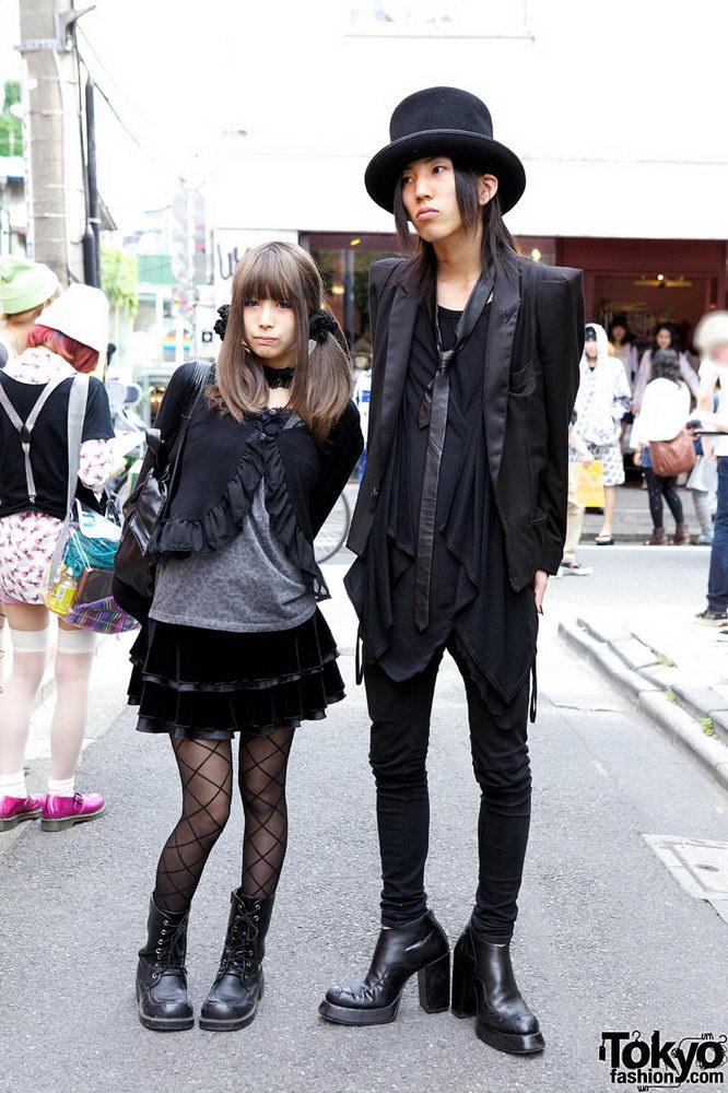 Прикольная одежда фриков. Уличная мода молодежи (5)