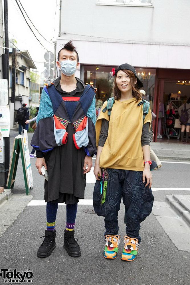 Прикольная одежда фриков. Уличная мода молодежи (3)