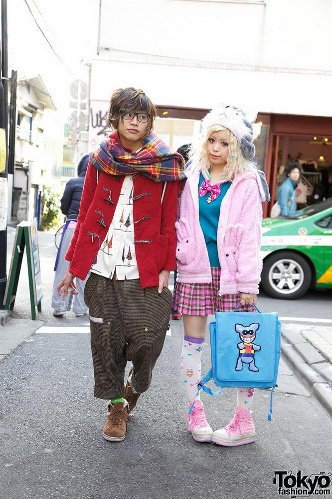 Прикольная одежда фриков. Уличная мода молодежи (2)