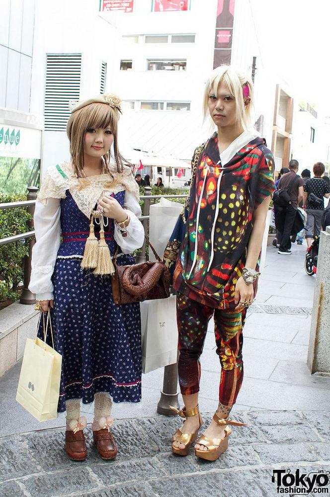 Прикольная одежда фриков. Уличная мода молодежи (1)