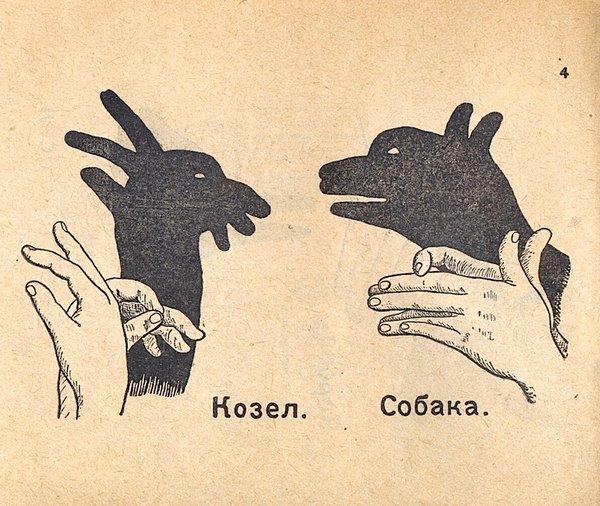 Как сделать тени животных на стене (4)