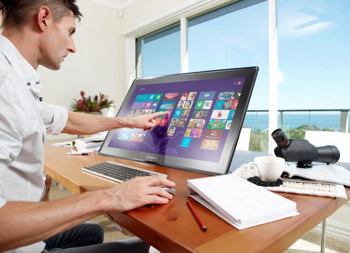 Самый большой и необычный планшет IdeaCentre Horizon 151 (7)