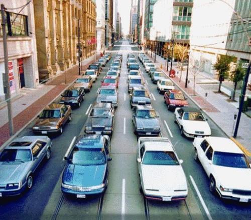 Что представляют из себя пробки на дорогах (1)
