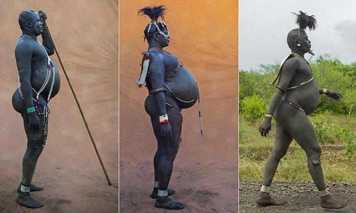 Необычный ритуал племени Омо из Эфиопии (1)