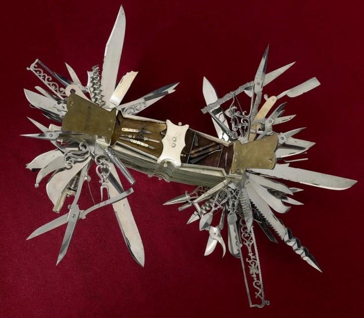 Уникальный многофункциональный нож 1880 года, Джон С. Хеллер (3)