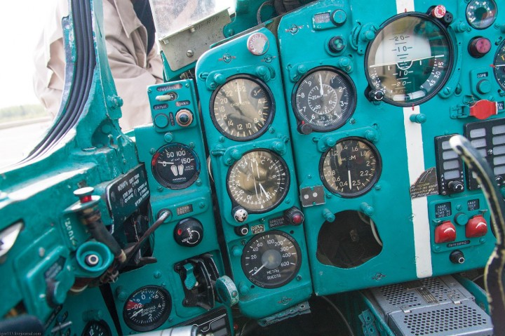 МиГ-21 в фотографиях, изнутри и снаружи (46)