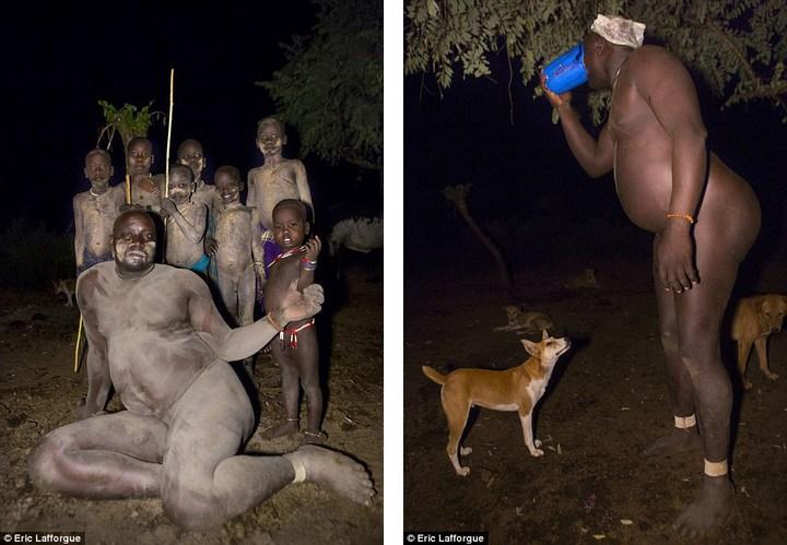 Необычный ритуал племени Омо из Эфиопии (5)