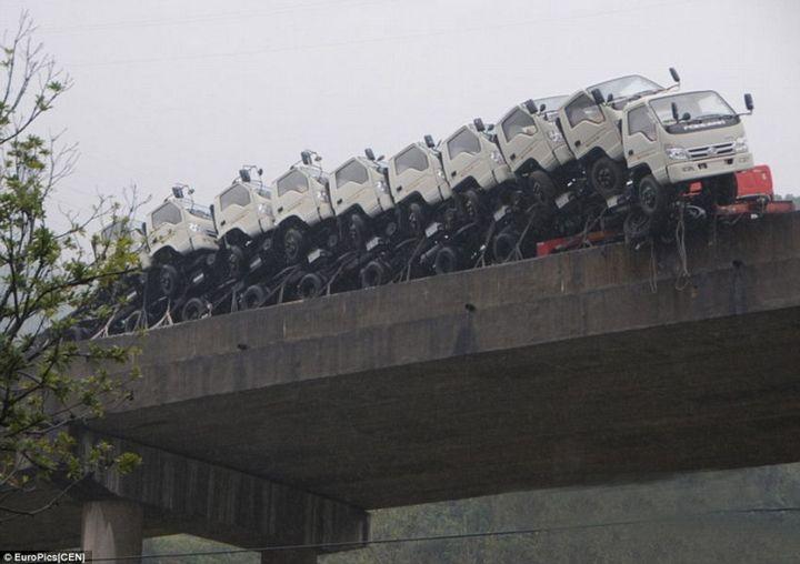 Необычная авария в Китае (3)