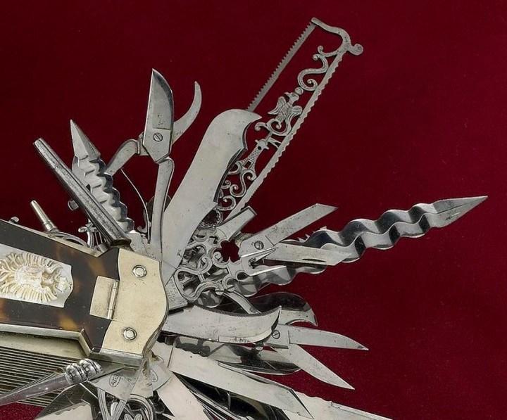 Уникальный многофункциональный нож 1880 года, Джон С. Хеллер (6)