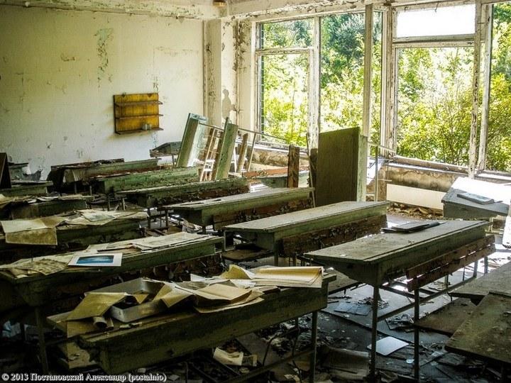 Школы в Припяти, интересное фото (11)