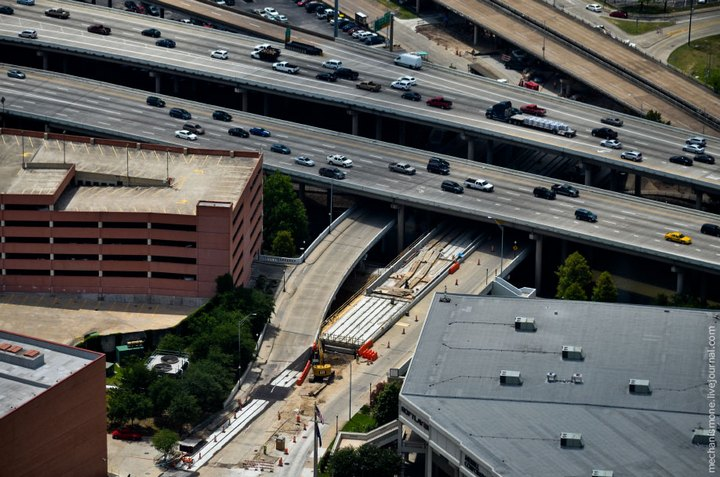 Процесс укладки дорожного покрытия в Америке (15)
