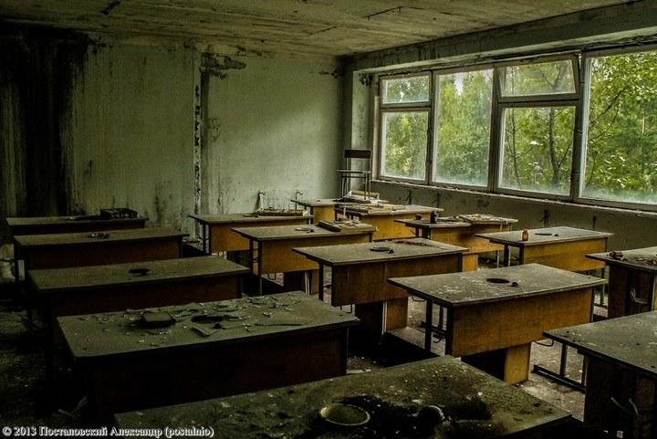 Школы в Припяти, интересное фото (19)