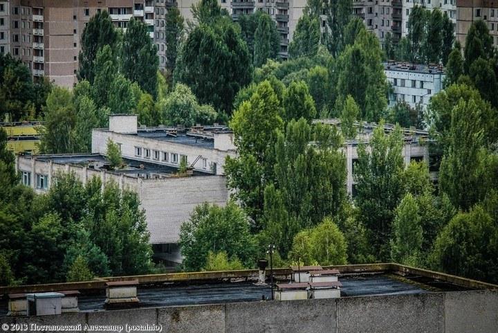 Школы в Припяти, интересное фото (21)