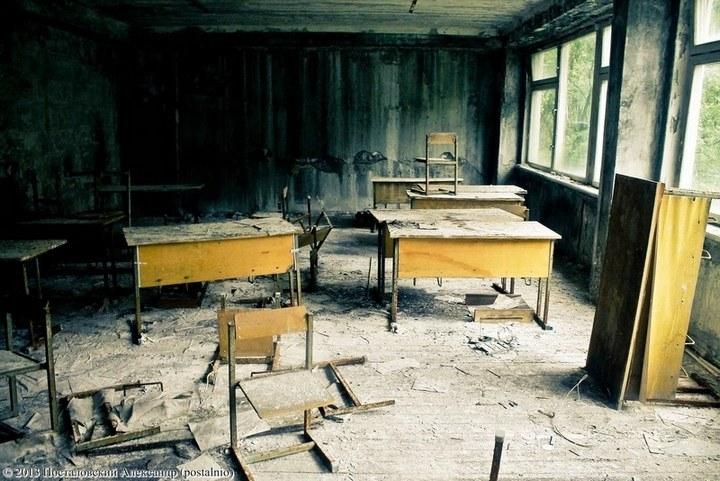 Школы в Припяти, интересное фото (27)