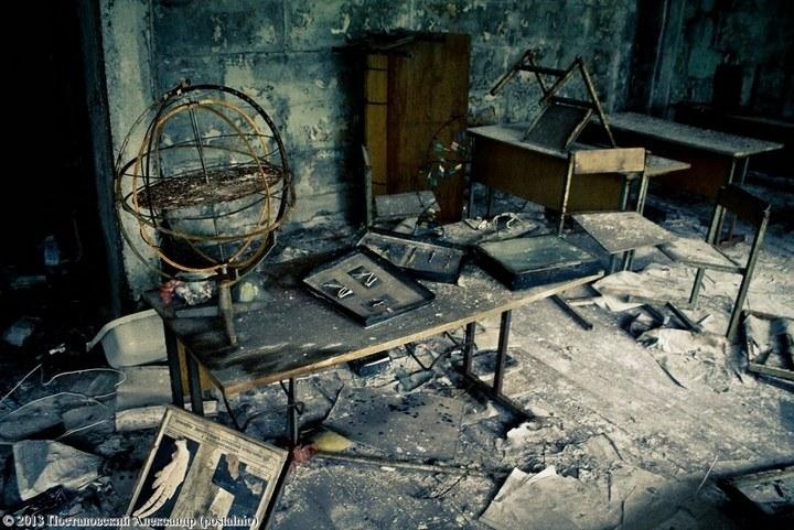 Школы в Припяти, интересное фото (28)