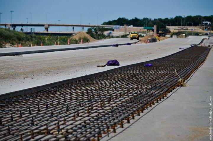 Процесс укладки дорожного покрытия в Америке (29)